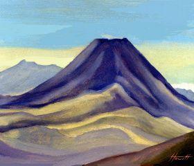 Mounts Ngauruhoe and Tongariro