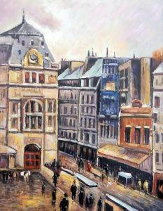 View of Paris, Rue d-Amsterdam