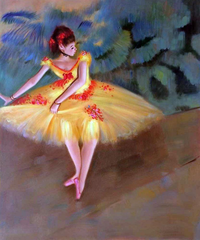 Dancer Making Points