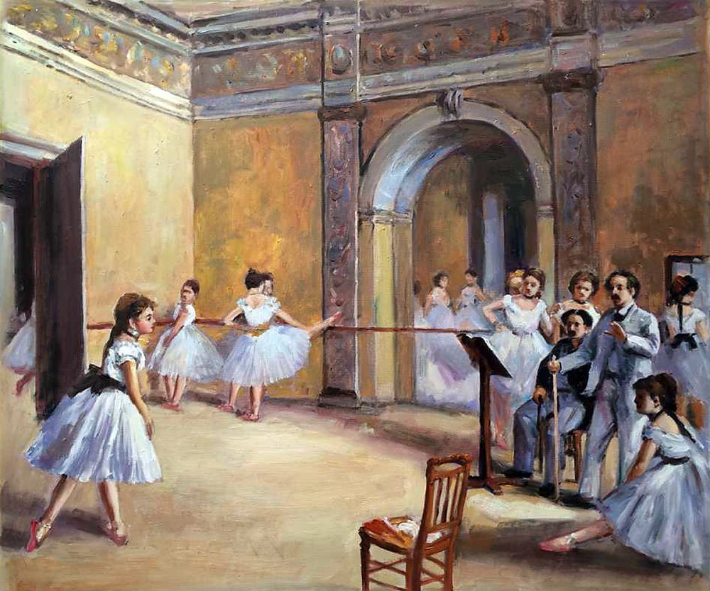 Dance Studio at the Opera
