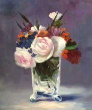 Flowers in a Crystal Vase - 20
