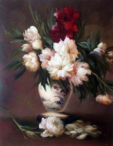 Peonies In A Vase - 20