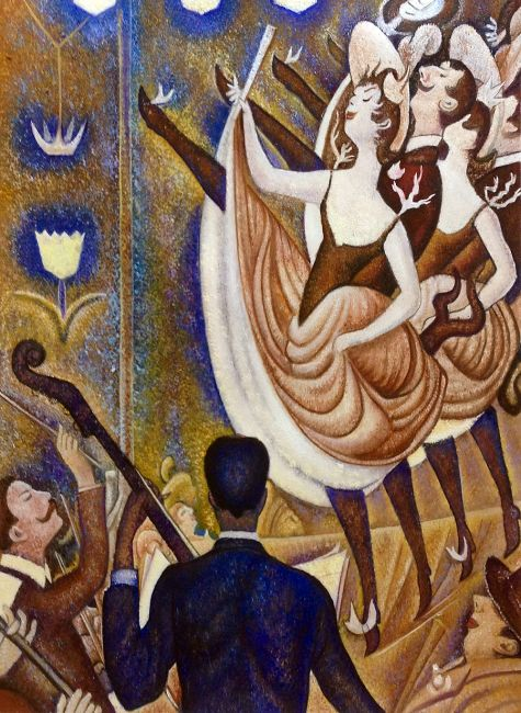 le chahut seurat Seurat master of pointillism the kröller-müller museum 23 may - 07  1891)  from its own collection, such as le chahut and the harbour views of the  even  le cirque, the last work that seurat painted, is coming to otterlo.