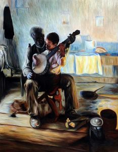 The Banjo Lesson - 20