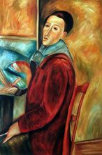 Modigliani, Self-Portrait - 24