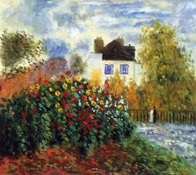 The Garden of Monet at Argenteuil, 1873 - 24