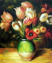 Tulips in a Vase - 20