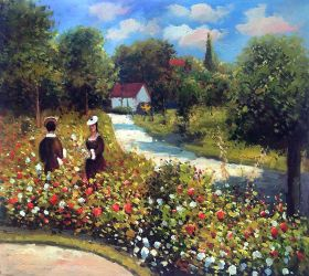 The Garden at Fontenay, 1874 - 24