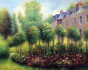 The Rose Garden at Wargemont, 1879 - 40