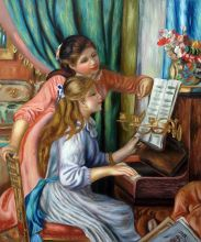 Young Girls at the Piano - 20