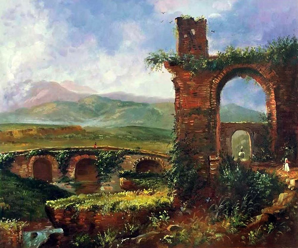 A View Near Tivoli (Morning), 1832