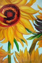 Sunflowers (detail) - 24