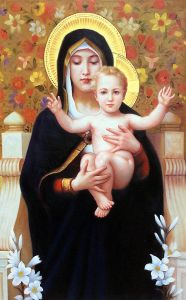 The Madonna of The Lilies, 1899