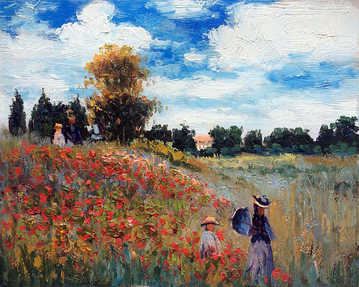 Claude Monet Hand Painted Reproduction Oil Paintings