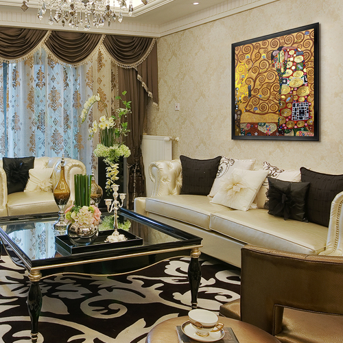 Living Room Paintings Canvas Art Reproduction Oil Paintings