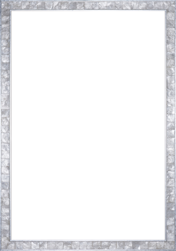 "Silver Pearl Frame 24"" X 36"""