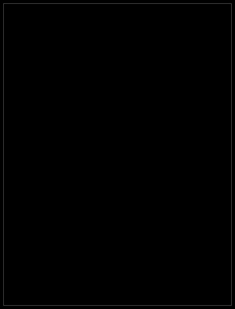 """Studio Black Frame 36""""X48"""""""