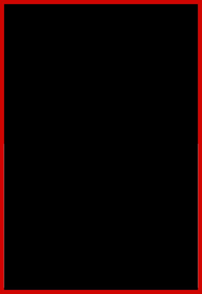 "Studio Red Metallic Frame 24""X36"""