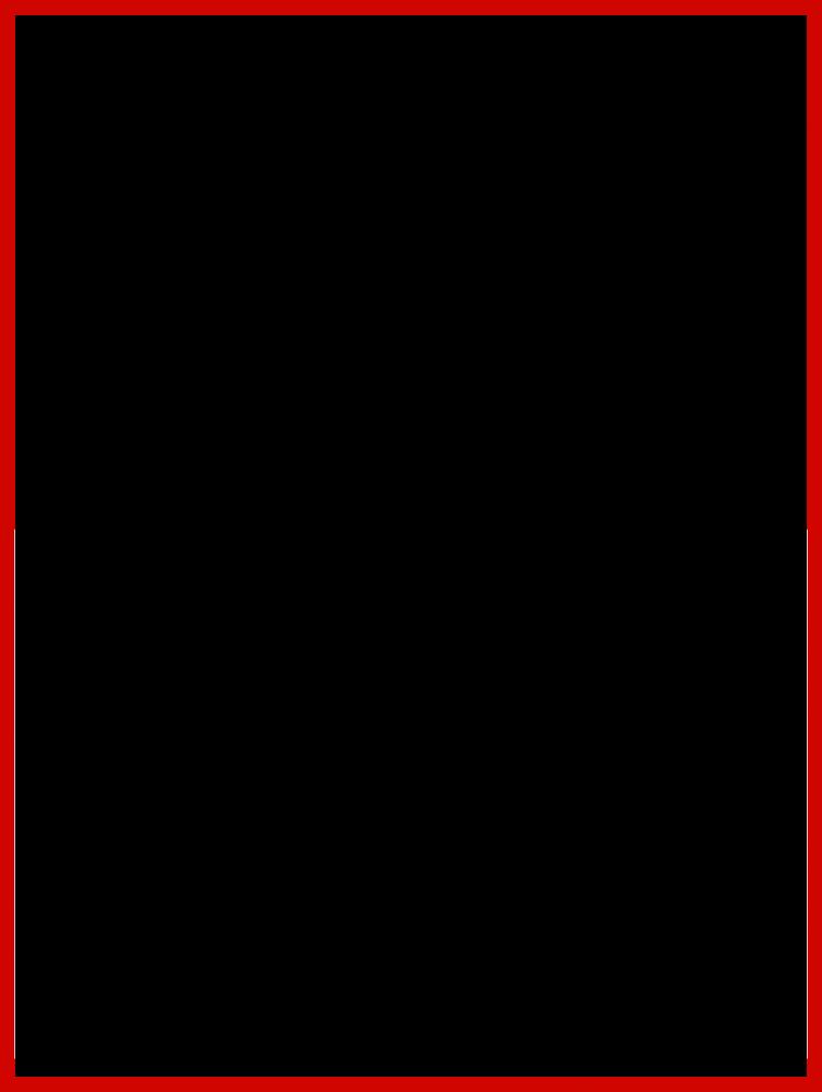 "Studio Red Metallic Frame 30""X40"""