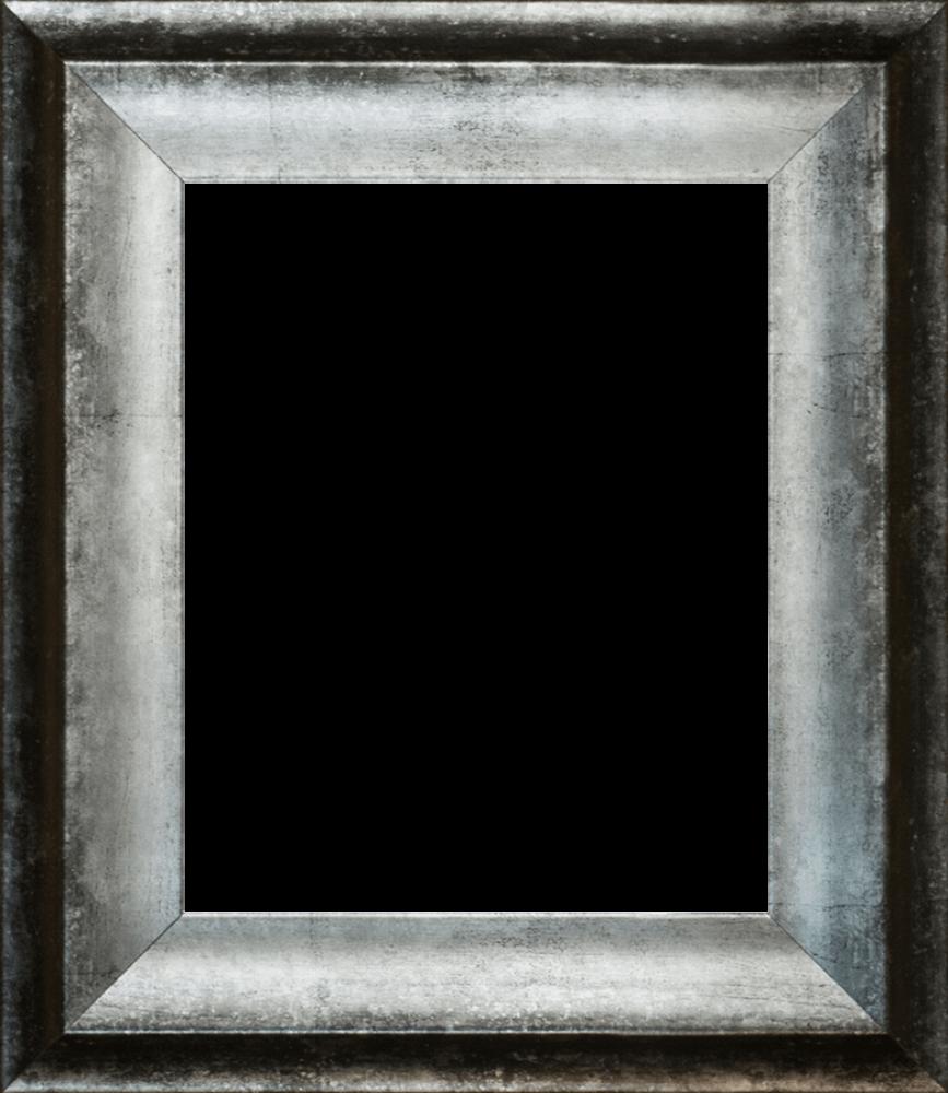 "Athenian Distressed Silver Frame 8""x10"""