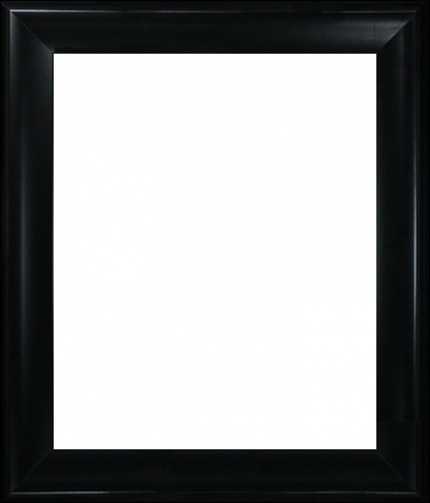 "Black Satin King Frame 20""X24"""