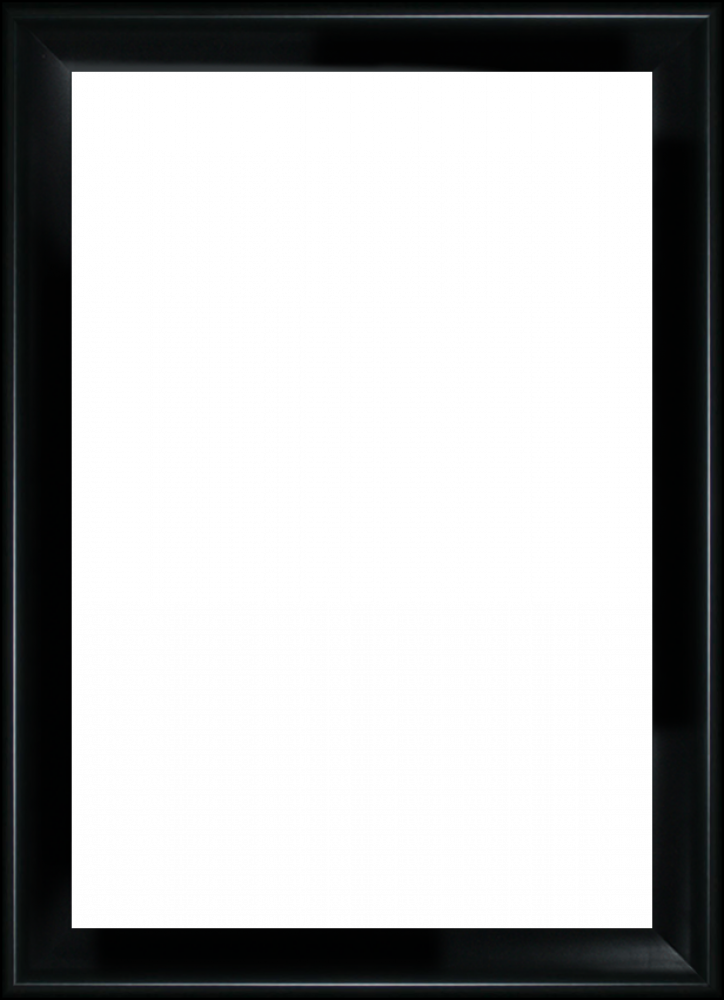 "Black Satin King Frame 24""X36"""