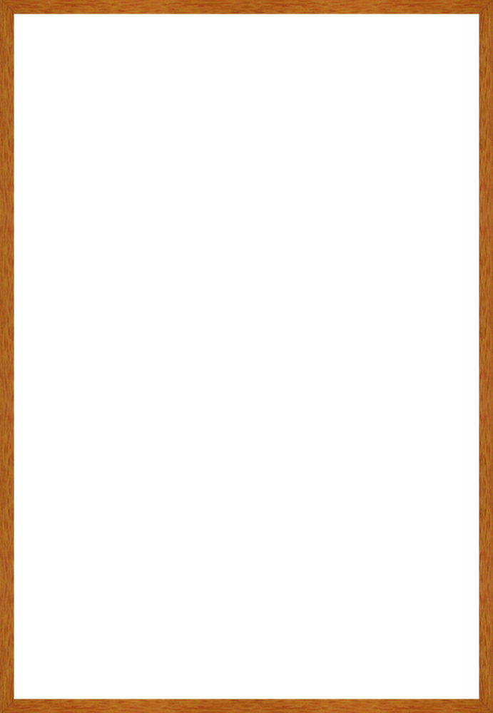 "Studio Pecan Wood Frame 24""X36"""