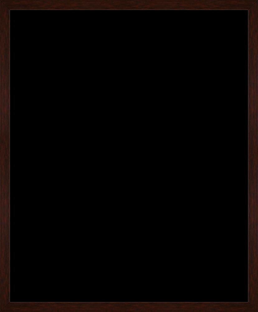 """Studio Walnut Wood Frame 20""""X24"""""""
