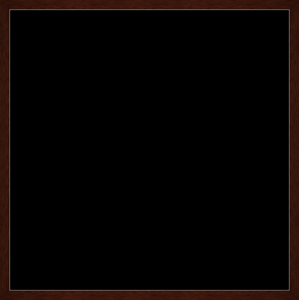 """Studio Walnut Wood Frame 24""""X24"""""""