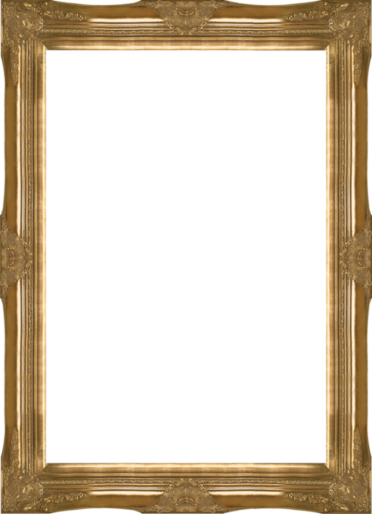 "Victorian Gold Frame 24""X36"""