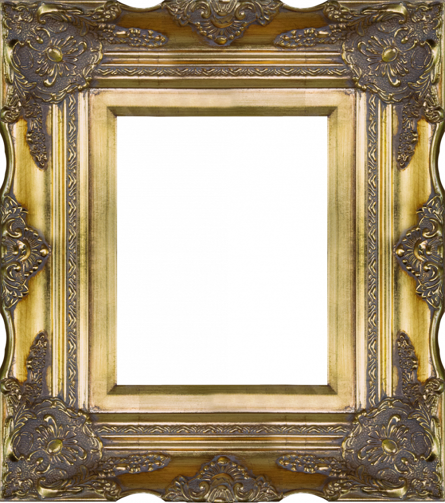 Victorian Gold Frame 8