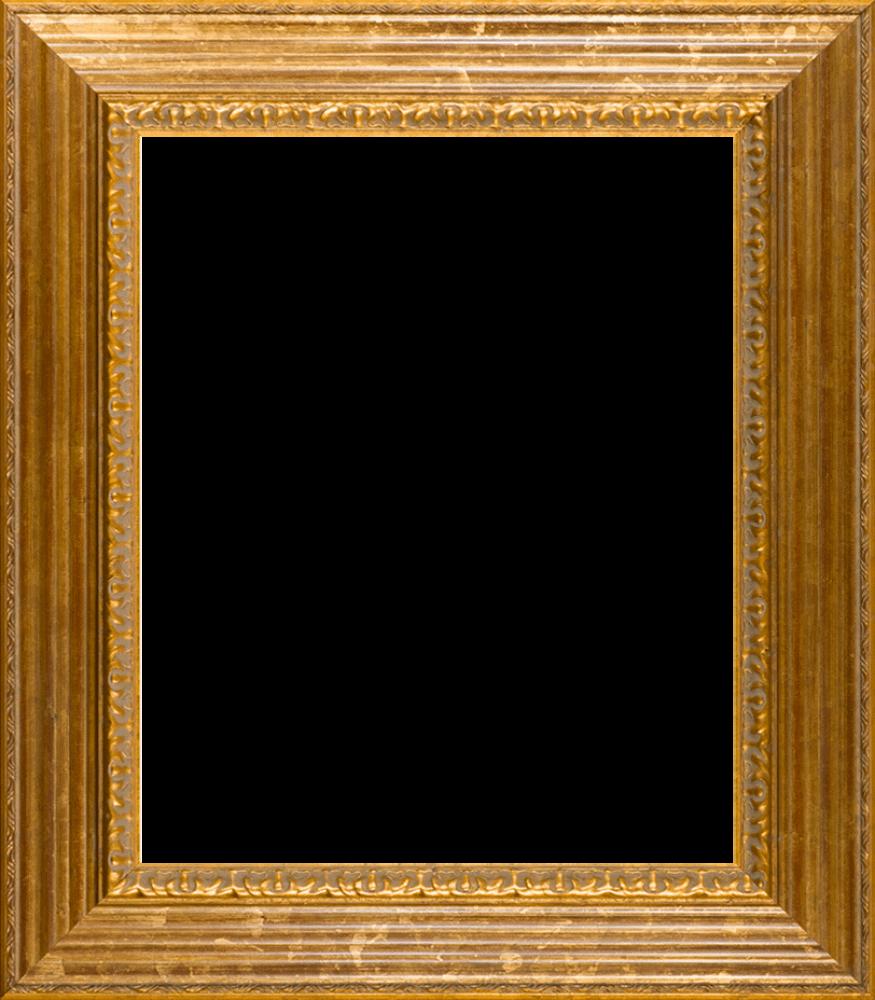 """Vienna Gold Leaf Frame 20""""X24"""""""