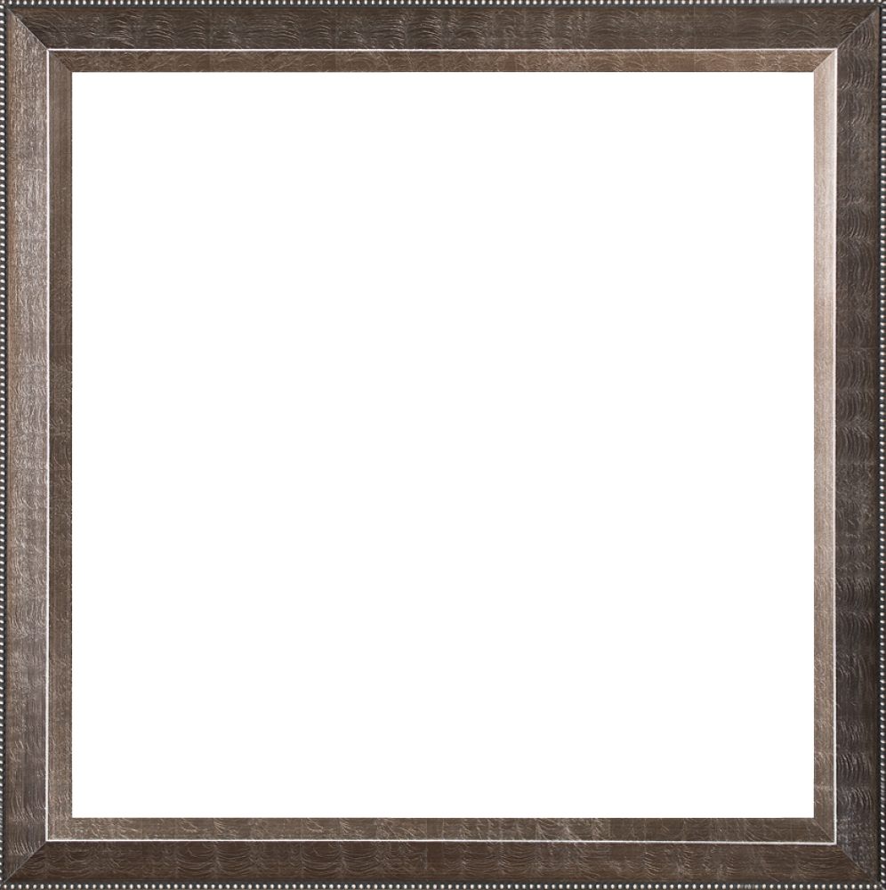 "Veine D'Or Pewter Angled Frame 24""X24"""