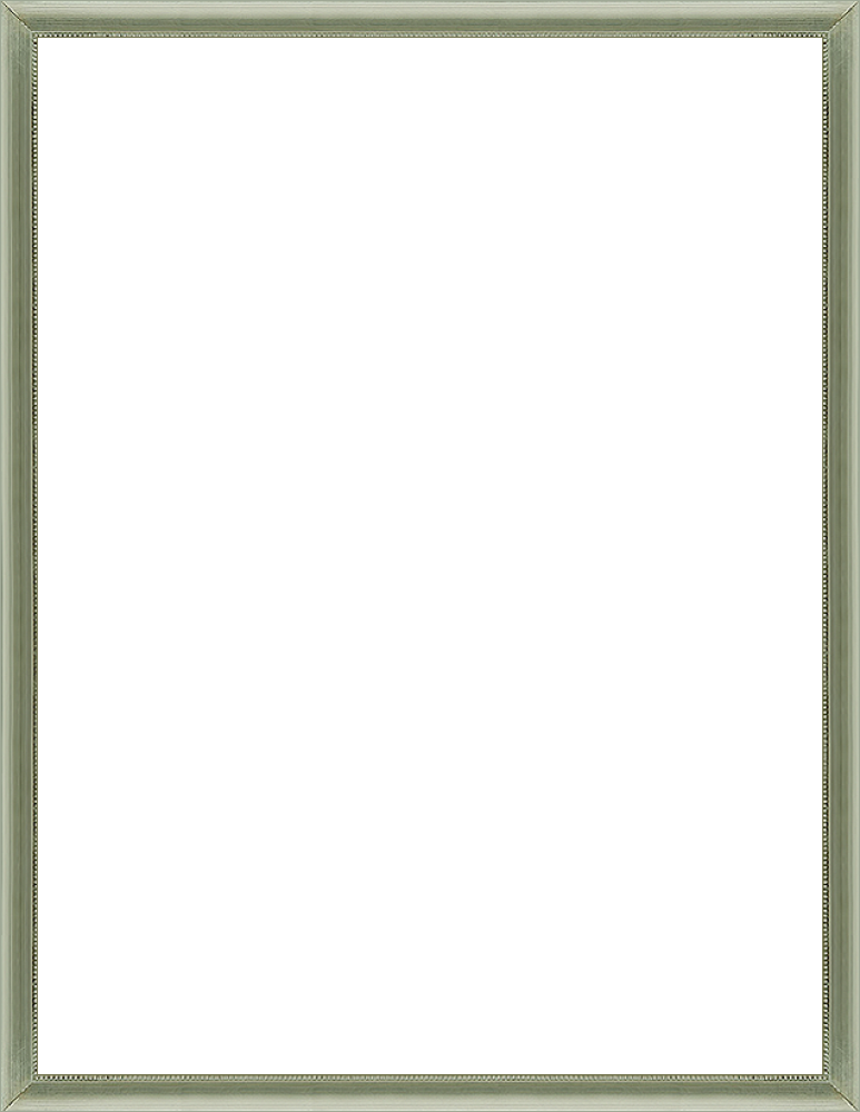 "Verona Silver Frame 36""X48"""