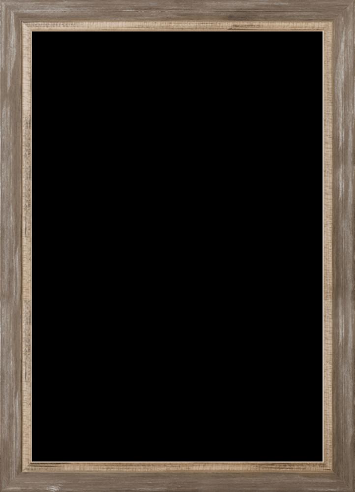Miramar Distressed Charcoal Grey Frame 24