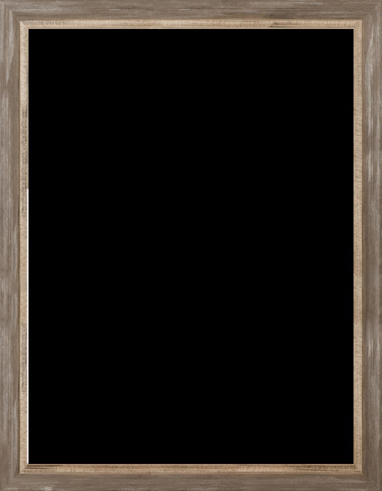 Miramar Distressed Charcoal Grey Frame 30