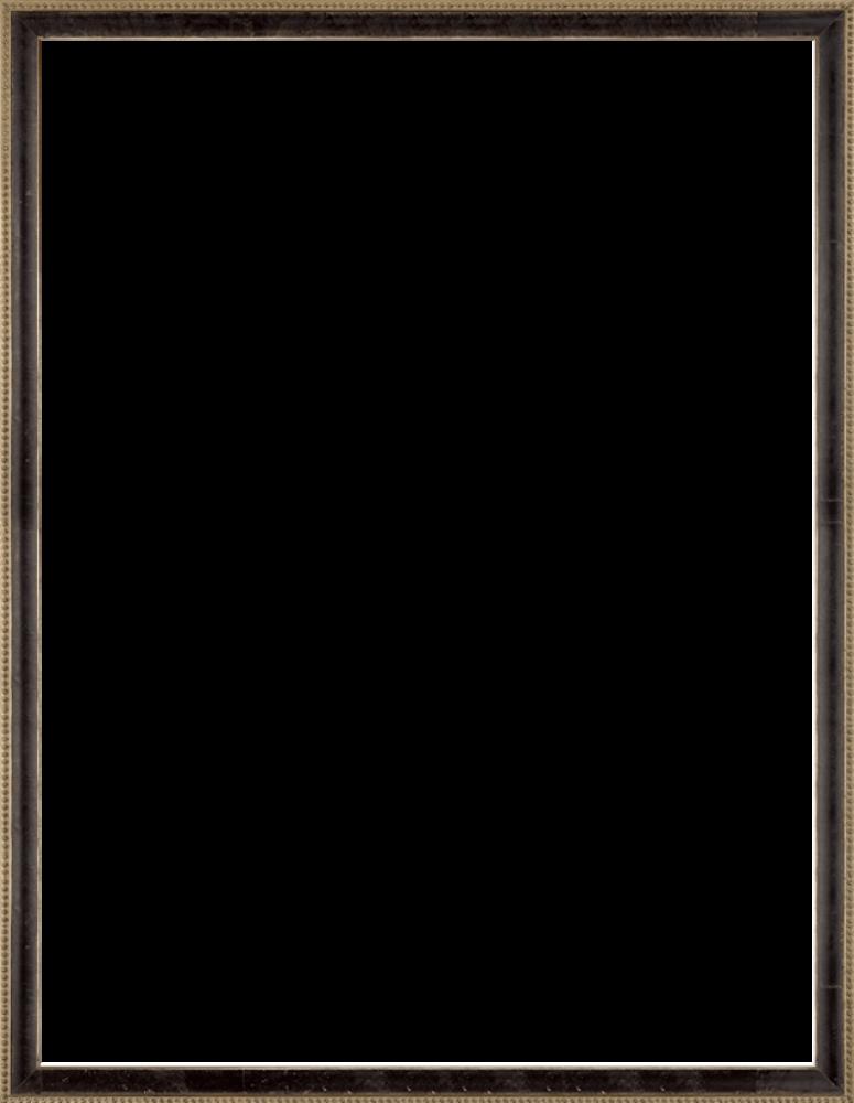 """Antiqued Athenaeum Scoop Frame 36"""" X 36"""""""