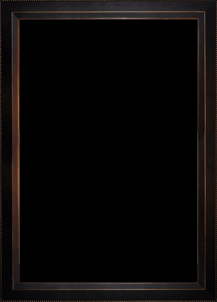 "Veine D'Or Bronze Angled Frame 24""X36"""