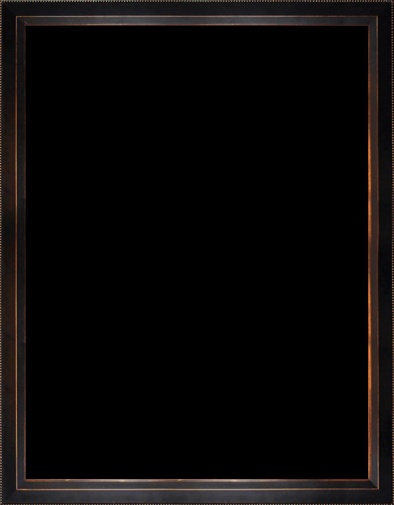 "Veine D'Or Bronze Angled Frame 36""X48"""