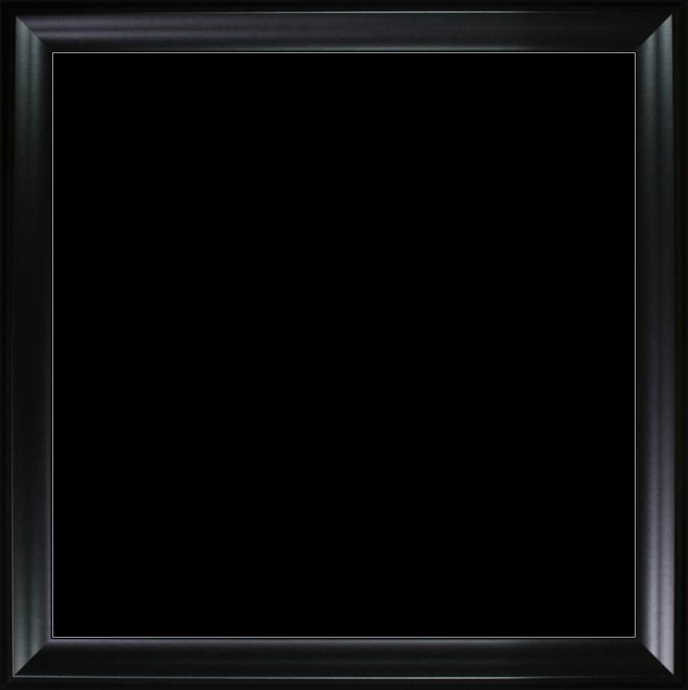"Black Satin Frame 24""X24"""