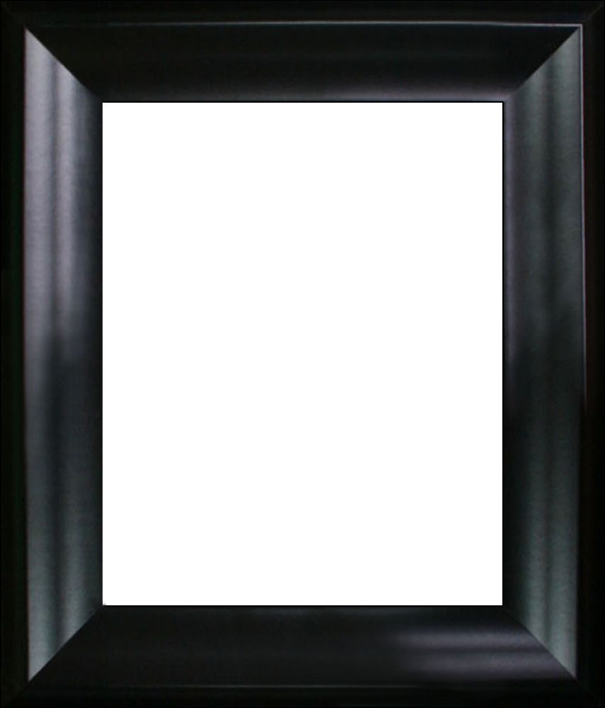 "Black Satin Frame 8""X10"""