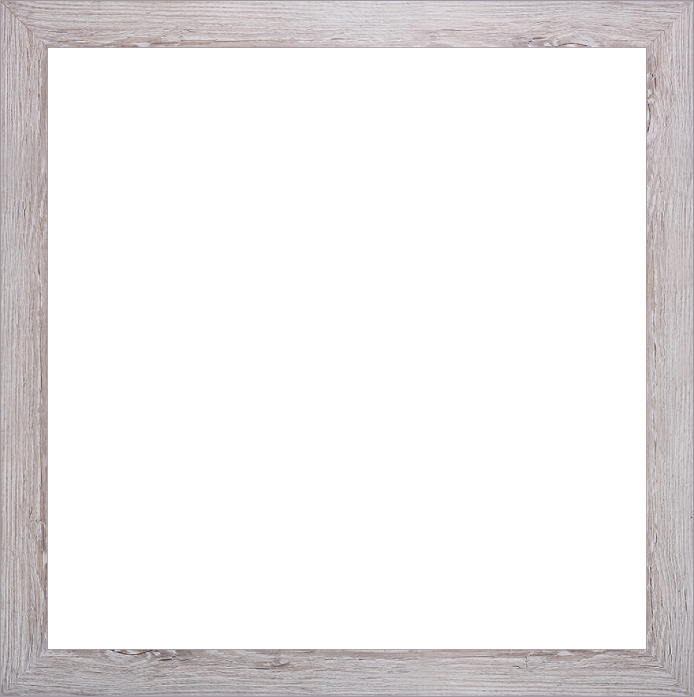 "Nantucket Whitewash Frame 24""X24"""