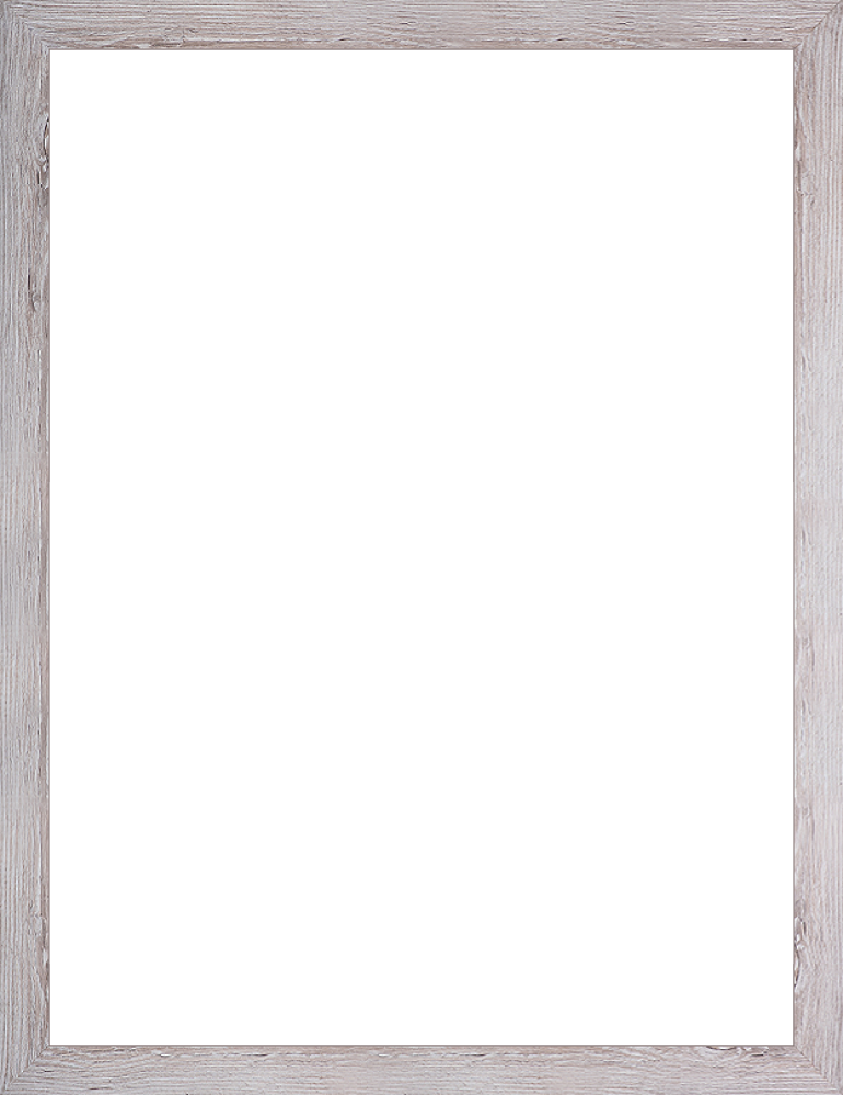 "Nantucket White Wash Frame 30""X40"""