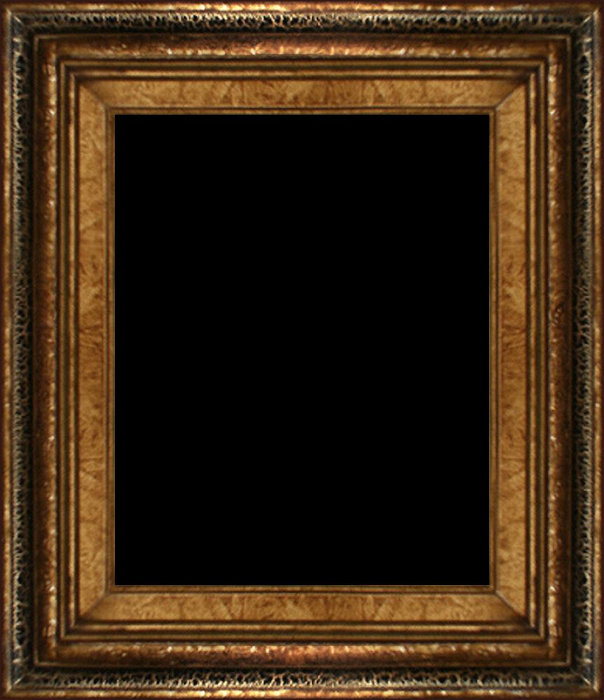 """Black Crackle Frame 8"""" X 10"""""""