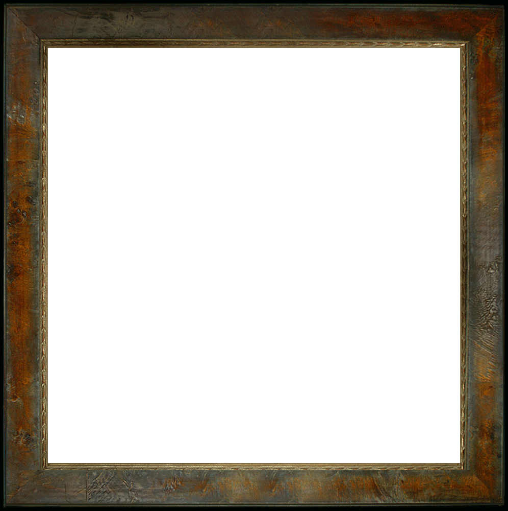 "Sambrosa Distressed Honey Frame 24""X24"""