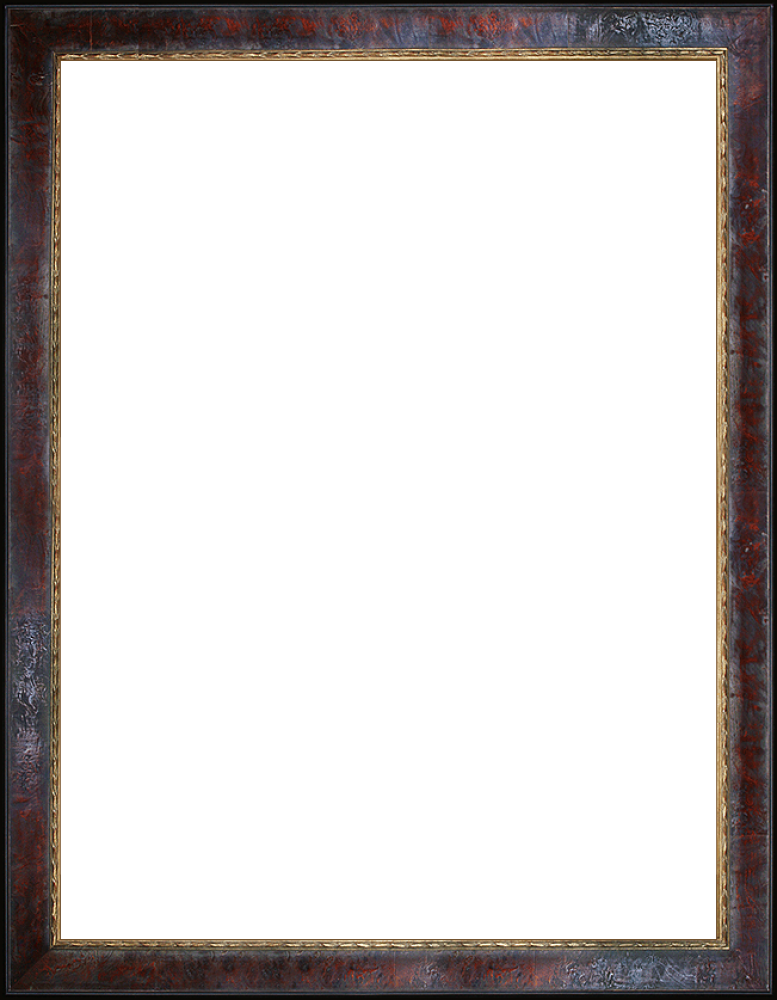 "Sambrosa Distressed Cherry Frame 30""X40"""