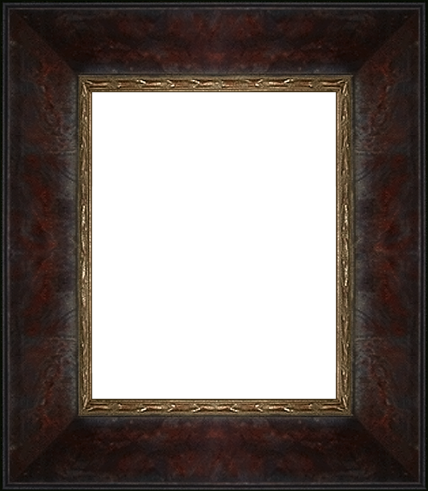 "Sambrosa Distressed Cherry Frame 8""X10"""