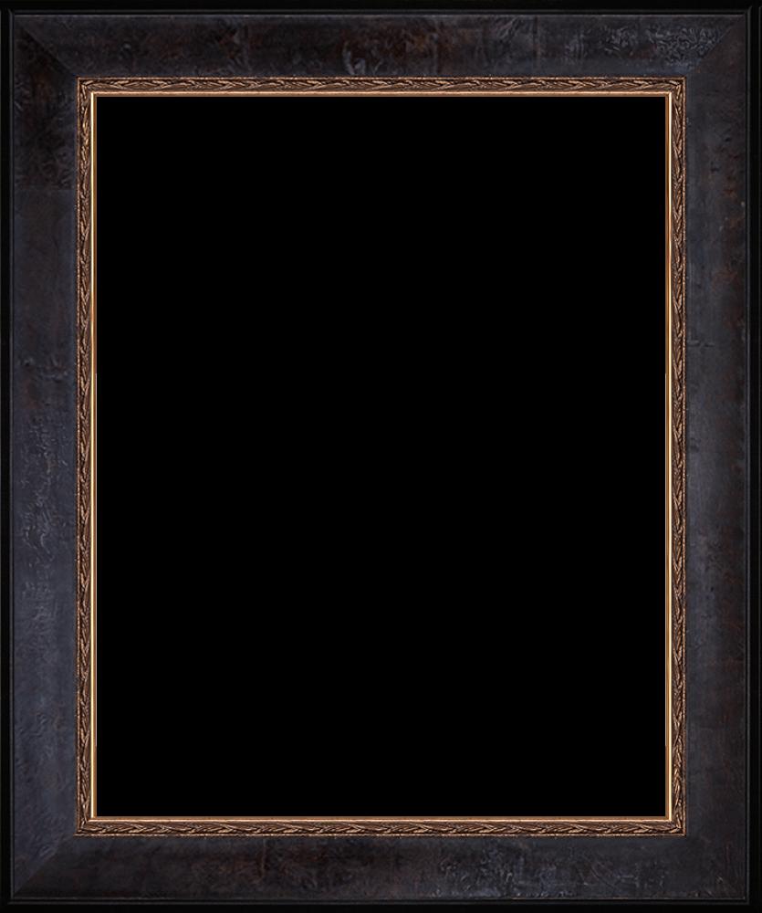 """Sambrosa Distressed Espresso Frame 16"""" X 20"""""""