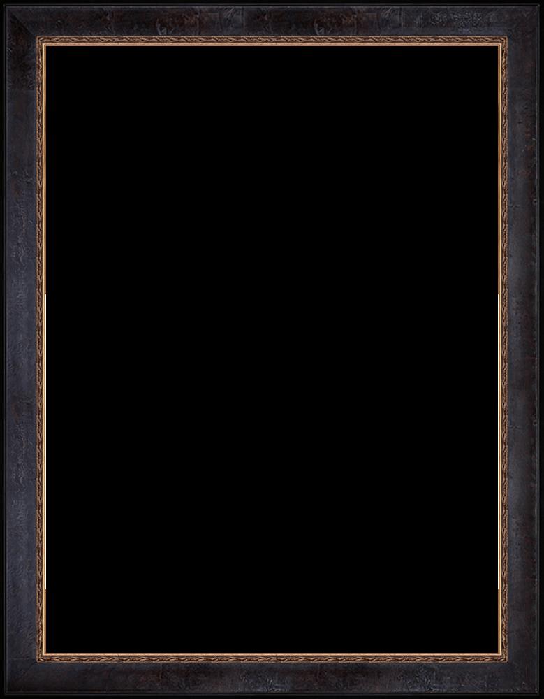 """Sambrosa Distressed Espresso Frame 30""""X40"""""""