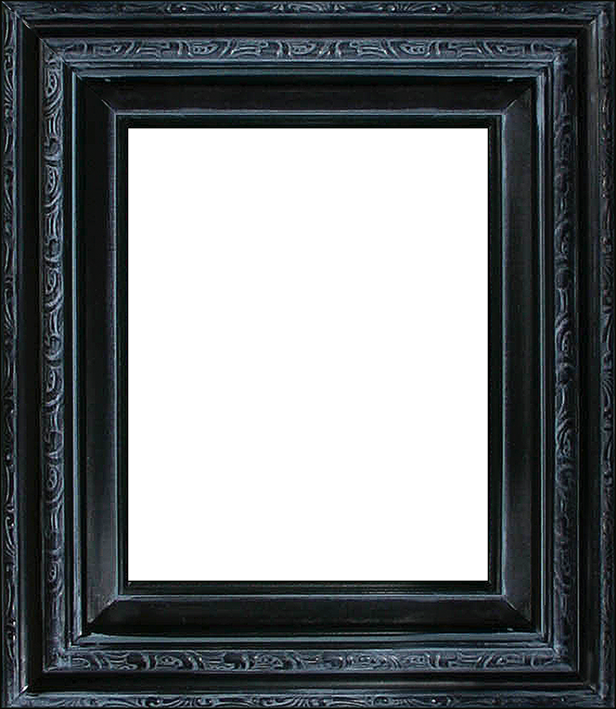 "Spaniard Black Frame 8""X10"""